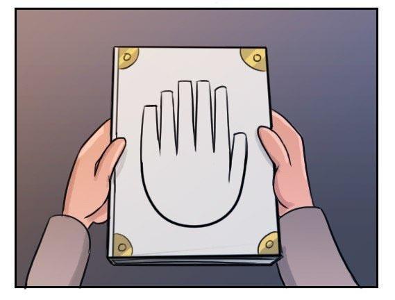 Картинки рука из гравити фолз