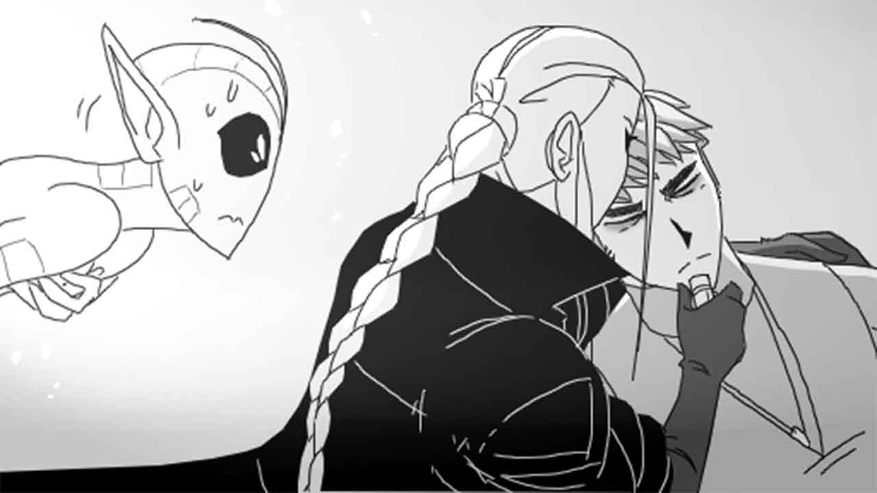 Комикс Леди Баг и Супер Кот Азарт Охоты Кровь Охотника 7-превью