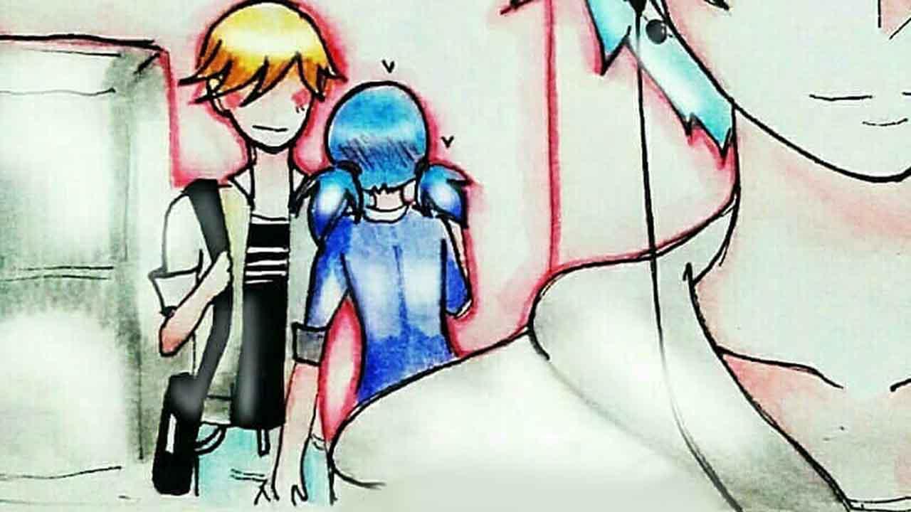 Комикс Леди Баг и Супер-Кот Потому что люблю 1 превью
