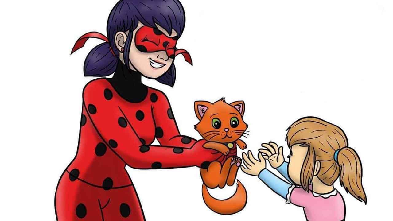 Комикс Леди баг и Супер-Кот Спасение 1 превью