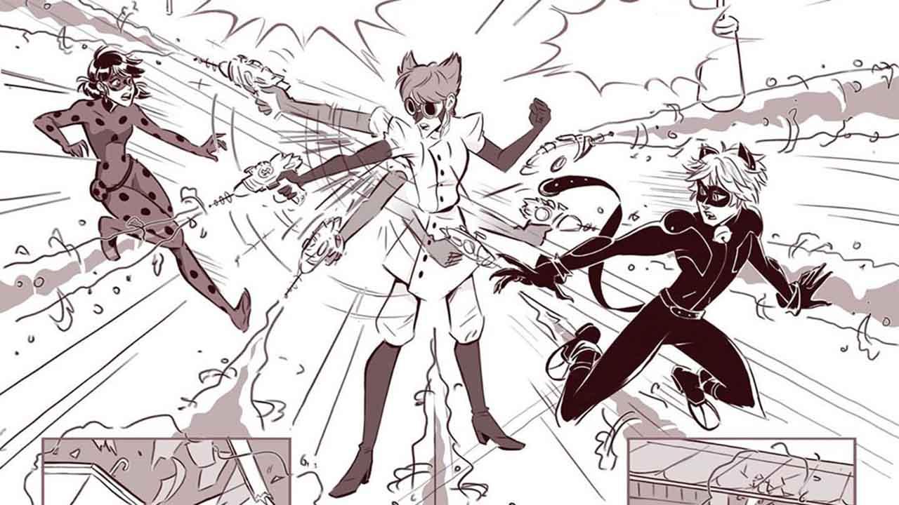 Комикс Леди Баг и Супер-Кот Плохая Химия 9 превью