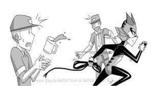 Комикс Леди Баг Азарт Охоты 18