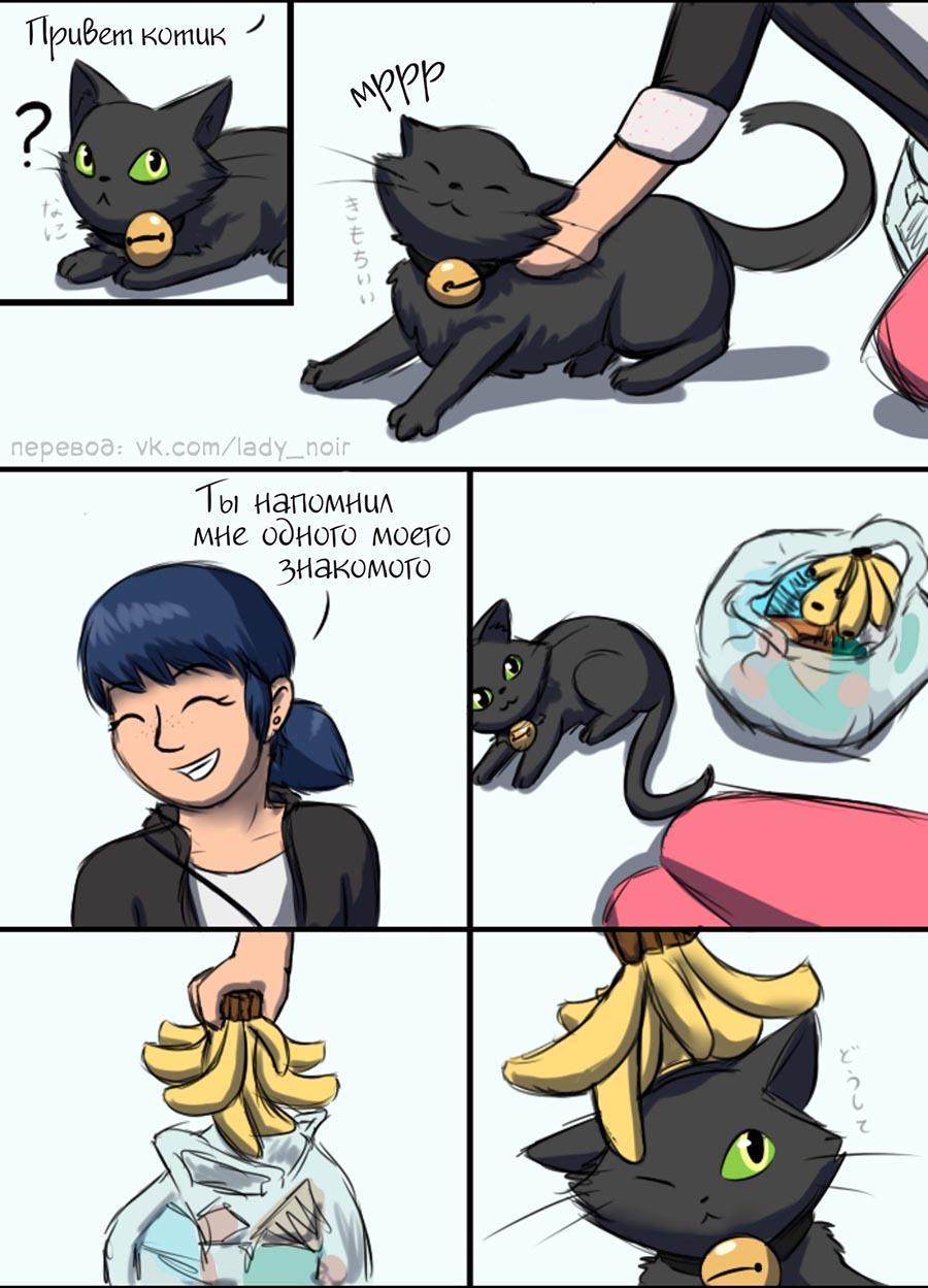 Комикс Леди Баг Похож 2