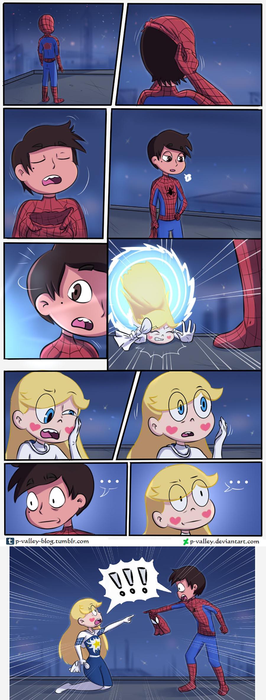 Комикс Стар Spider 1
