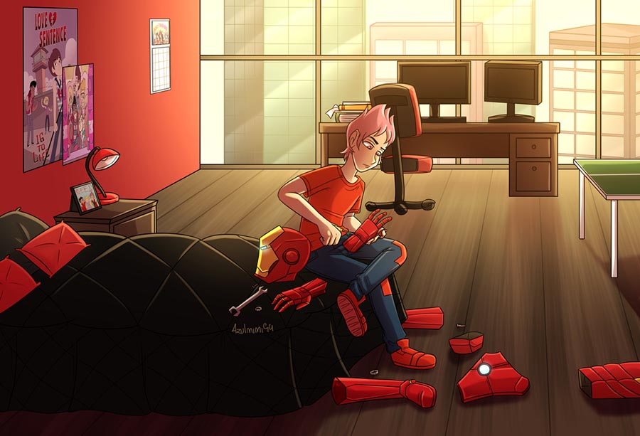 Комикс Стар Spider 4