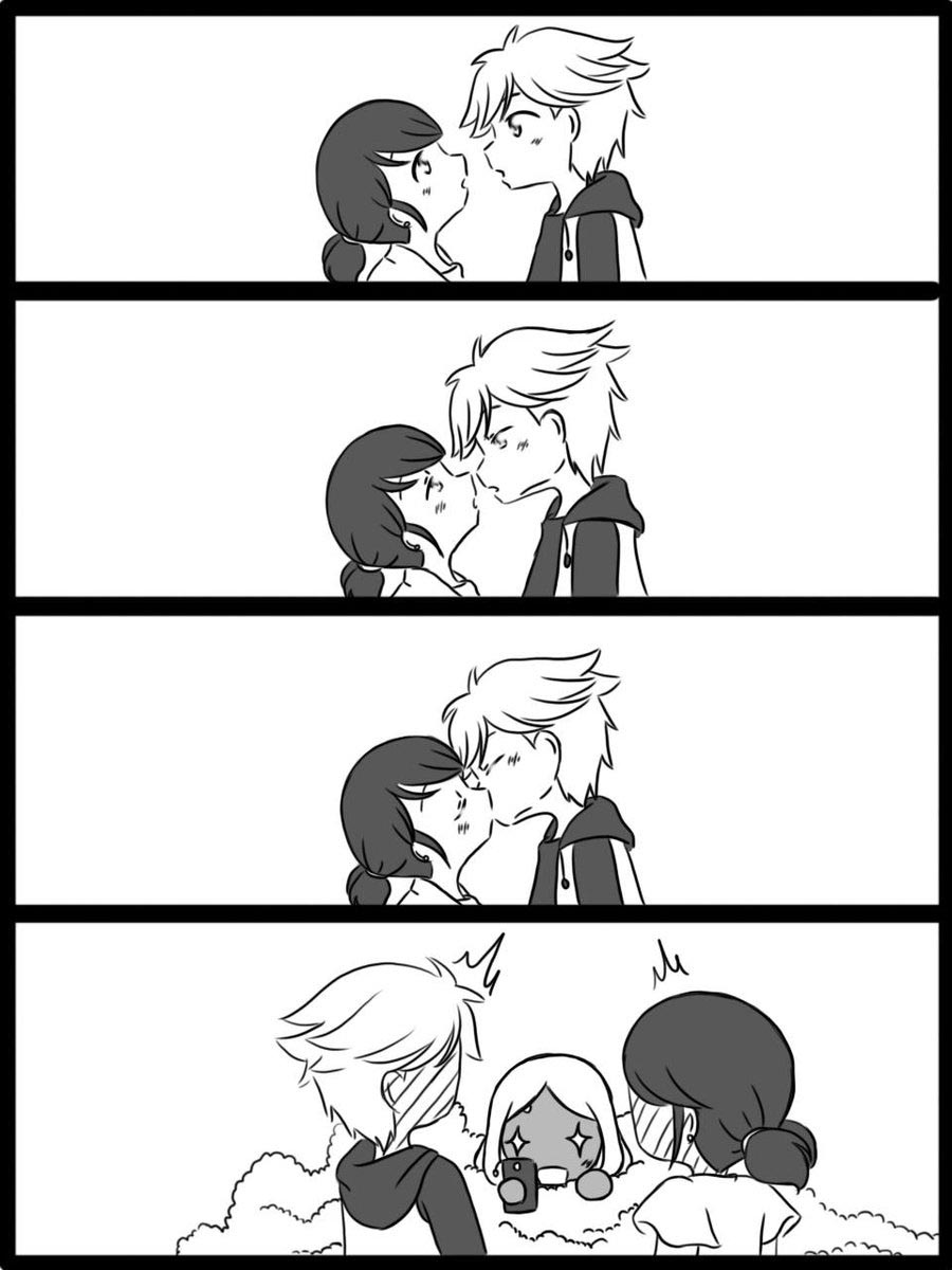 Комикс Леди Баг Первый Поцелуй 1