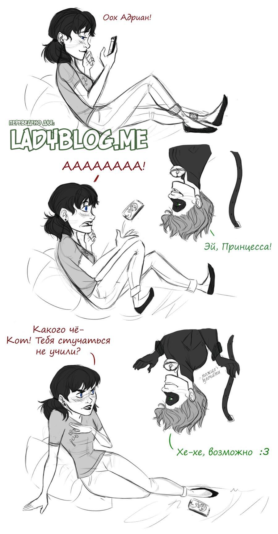 Комикс Леди Баг Привет Принцесса 1