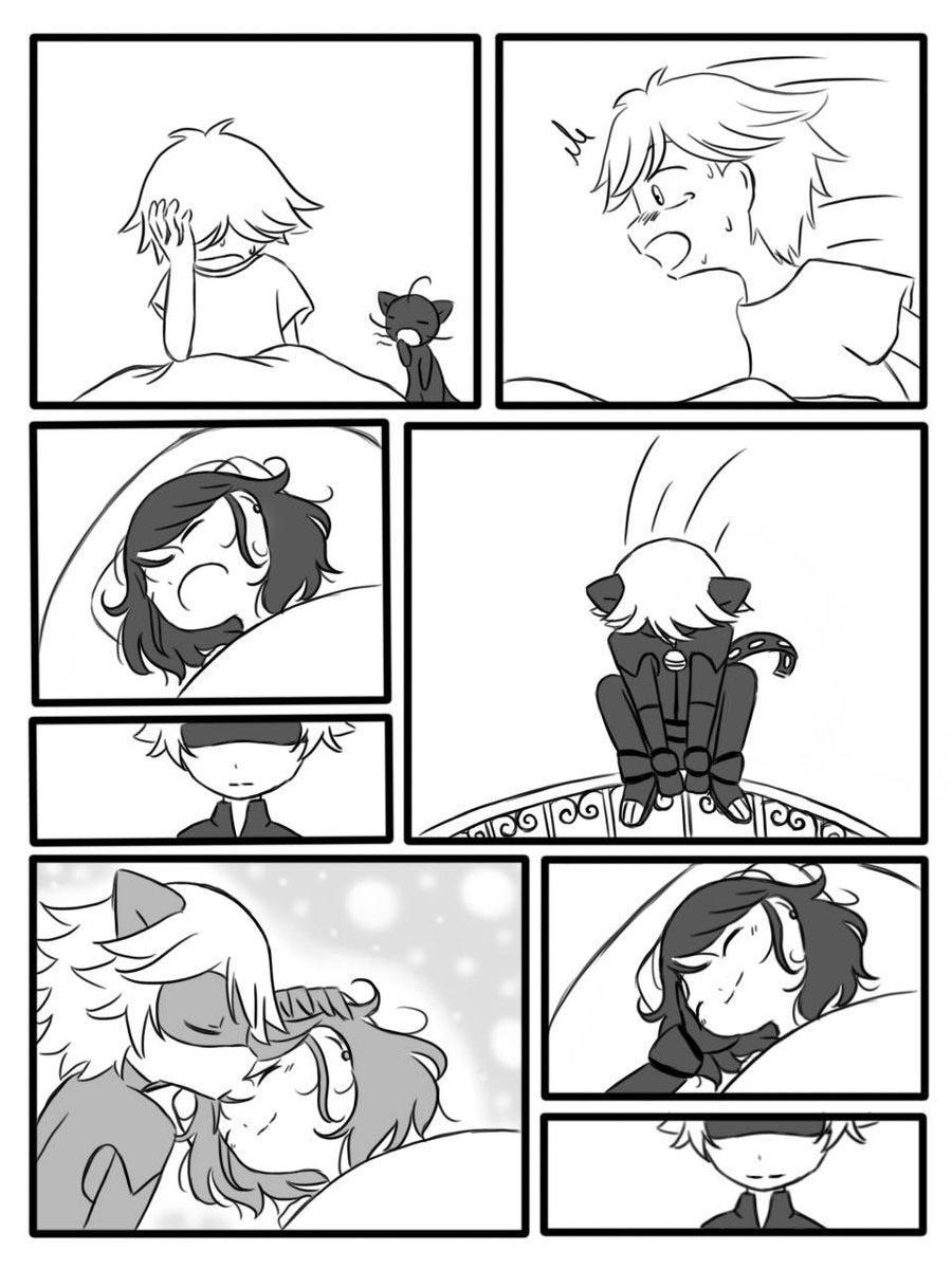 Комикс Леди Баг Приснится Же 2