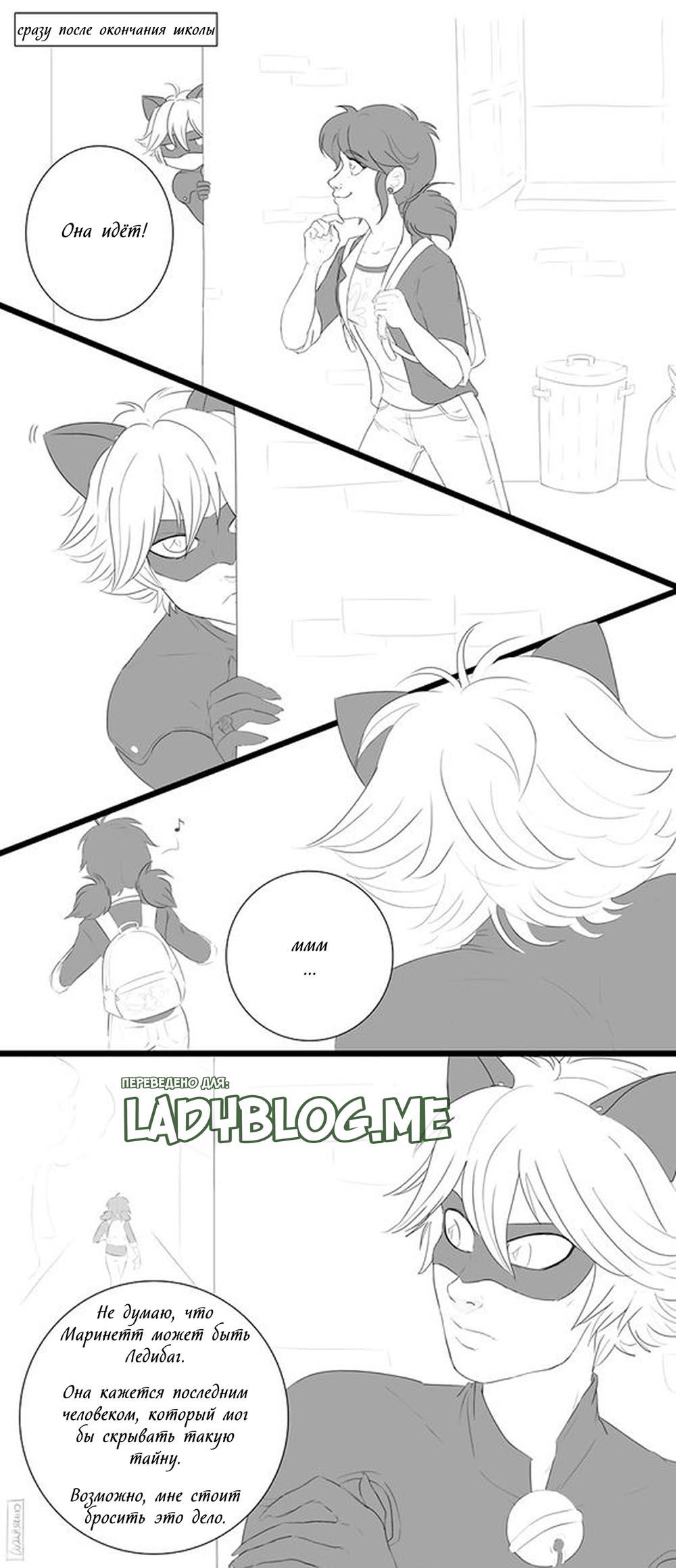 Комикс Леди Баг Нераскрытая Тайна 9
