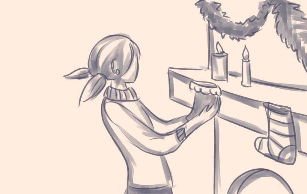 Комикс Леди Баг и Супер Кот Новогодние Дела 11