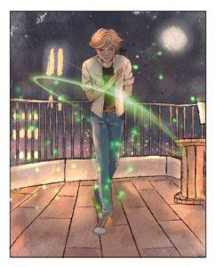 Комикс Леди Баг и Супер Кот Чудесный цветок 1-8