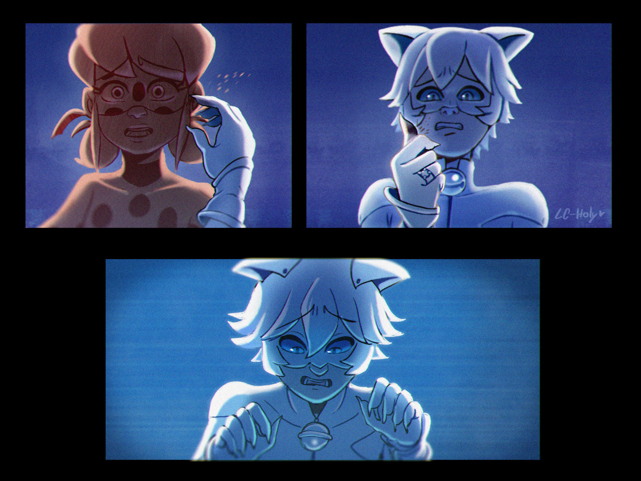 Комикс Ночные кошмары 1-4